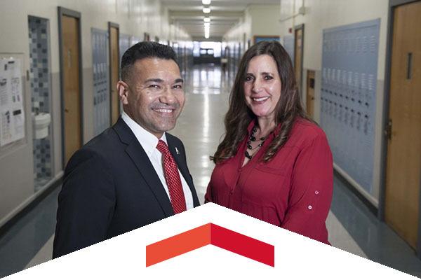 CSUN alumni Patrizia Puccio and Gonsalo Garay help educate young people in LAUSD.