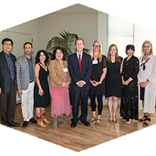CSUN awarded emeritus status to 29 professors at the annual Honored Faculty Reception.