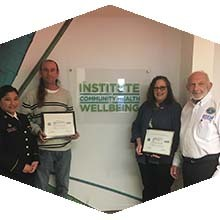 CSUN staff receive Patriot Award.