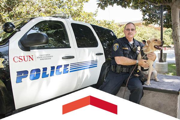 Officer Virgil Messmore and his K9 partner, Daisy.