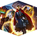 Doctor Strange movie art.