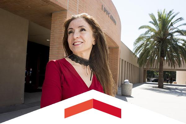 Portrait of Soraya Fallah.