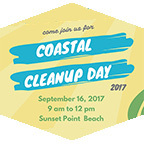 Coastal Cleanup Day promotional poster