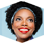Portrait of Sasheer Zamata.
