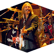 Tom Petty plays a show in 2011.