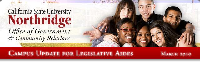 Campus Update for Legislative Aides