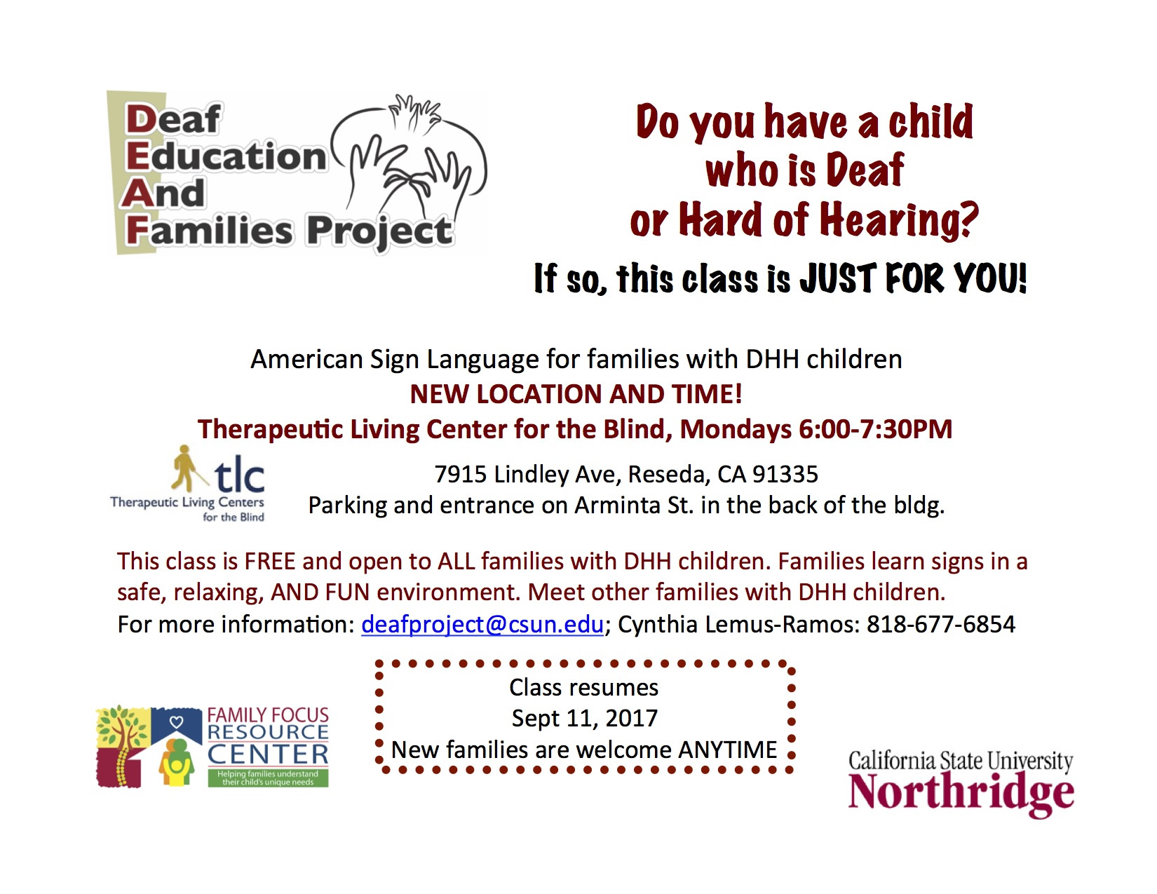 Deaf Education and Families Project