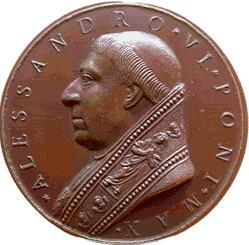 link to page concerning Pope Alexander VI (Borgia)