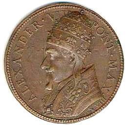 link to page concerning Pope Alexander VII