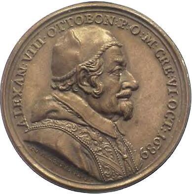 Bust of Alexander VIII, 1689