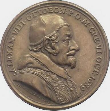 link to page concerning Pope Alexander VIII