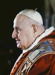 John  XXIII, wearing zucchetto, mozzetta and stole,  photo