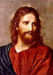 Brunette Jesus