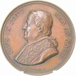 link to page concerning Pope Pius IX