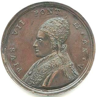 link to page concerning Pope Pius VII