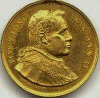 link to page concerning Pope Pius X (Sarto)