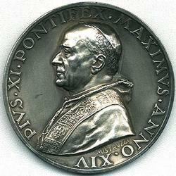 link to page concerning Pope Pius XI (Ratti)