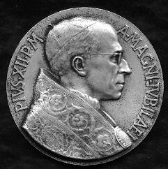 link to page concerning Pope Pius XII (Pacelli)
