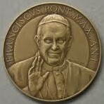 Obverse of medal of Pope Benedict XVI  (Ratzinger)