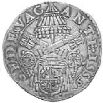 link to page concerning  the Sede Vacante of 1559;  Arms of Card. Sforza