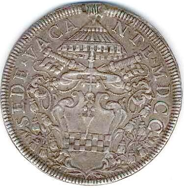 link to page concerning Sede Vacante 1700