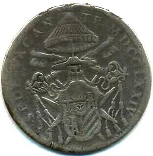 link to page concerning Sede Vacante 1774