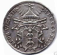 link to page concerning Sede Vacante 1823