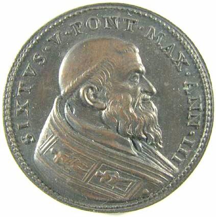 Pope Sixtus V, 1587