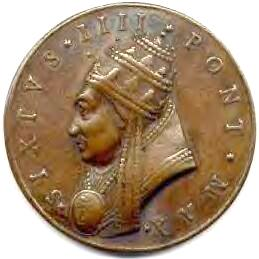 link to page concerning Pope Sixtus IV