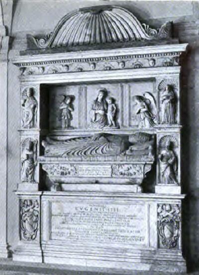 Tomb of Eugene IV, S. Salvatore in Lauro