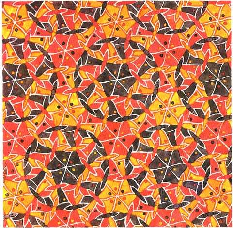 Cool Tessellations Templates on Easy To Do Tessellations
