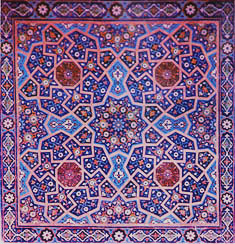 Islamic Star Pattern tile
