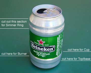 beer can stove instructions