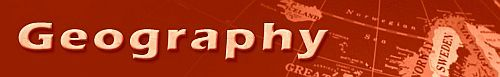 Geography Department Banner.  Click to link to Geography Department Website