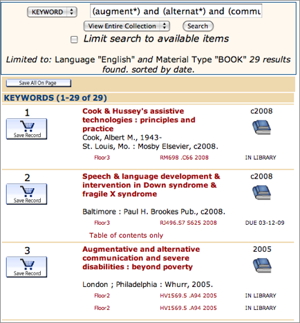 Identifying The Appropriate Databases For Books