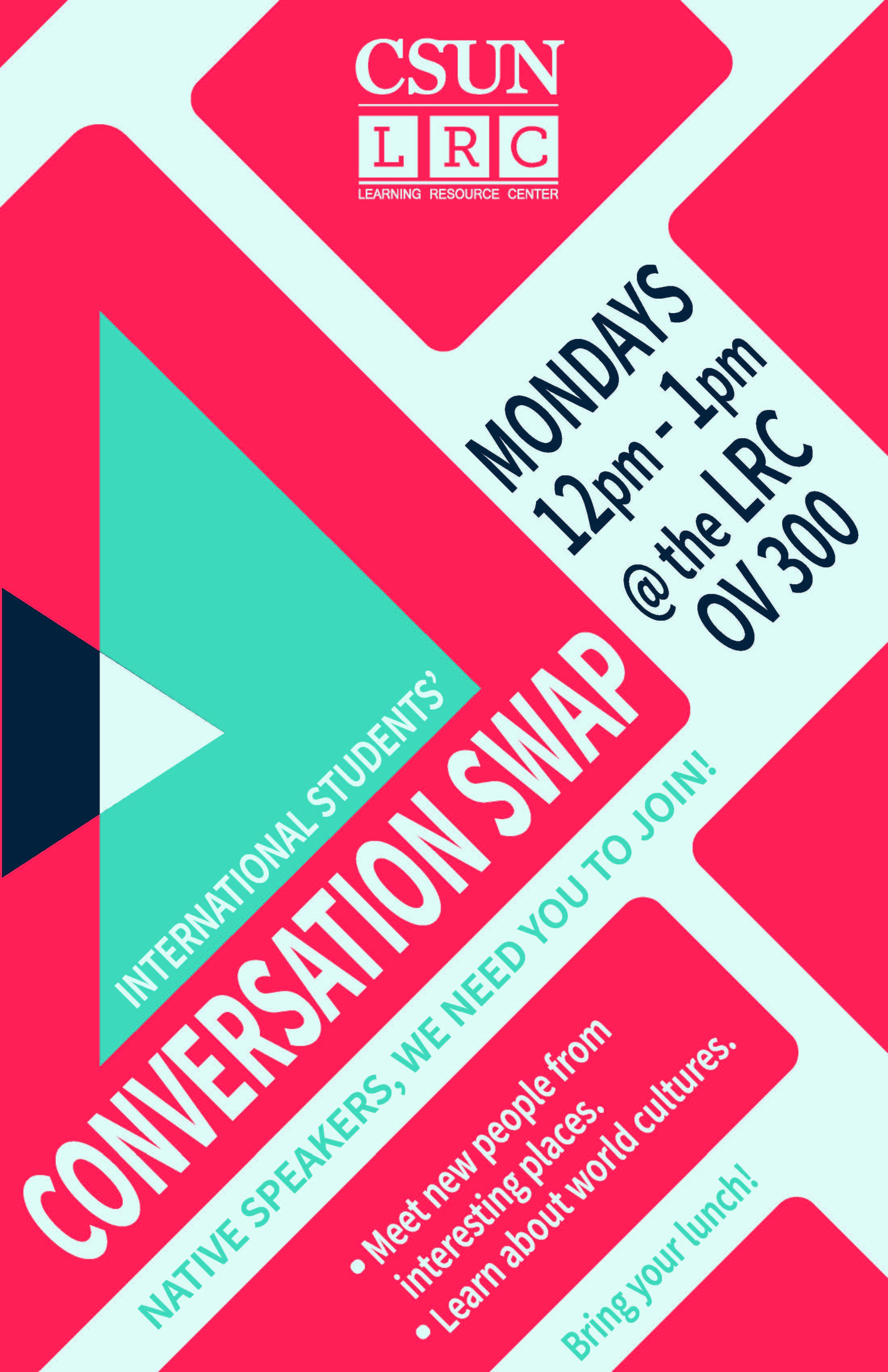 Conversation Swap Flyer