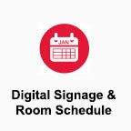 Digital Signage and Room Schedule