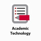 Academic Technology button.
