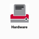 Hardware button.