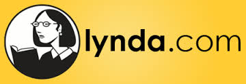 Lynda.com yellow and black logo.