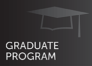 graduate program button-silhouette of mortar board
