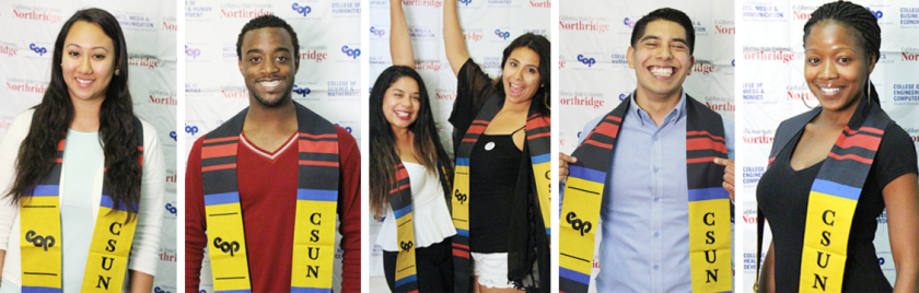 photo of graduating csun eop students