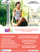 WIC Information flyer