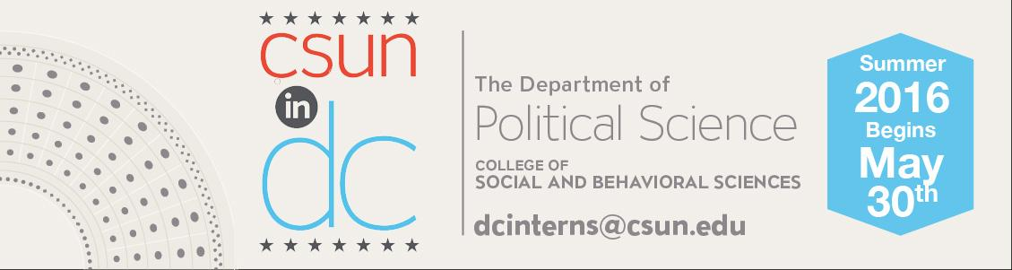 Summer DC Internship Session Begins May 30th