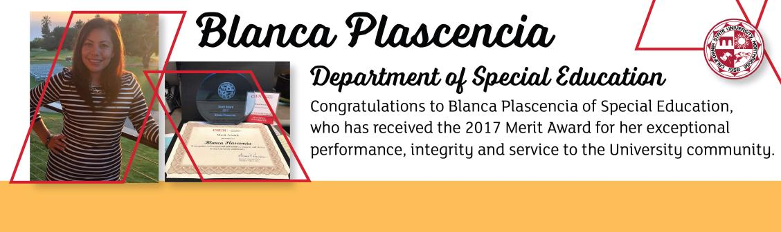 Bianca Plascencia Merit Award