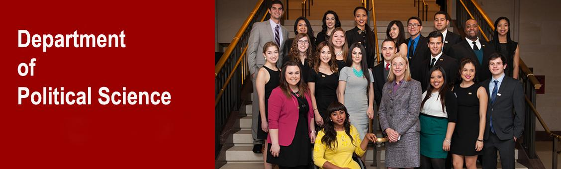 President Harrison and CSUN DC Interns, 2013