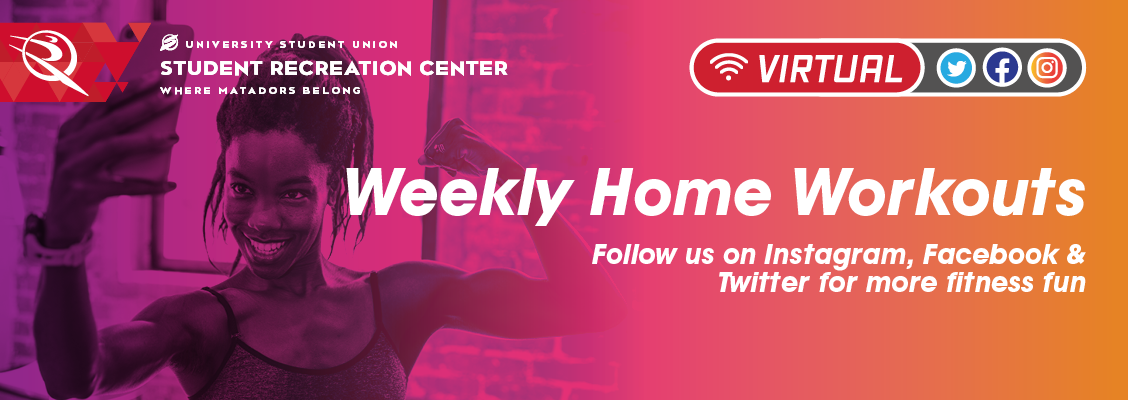 Virtual Weekly Home Workouts