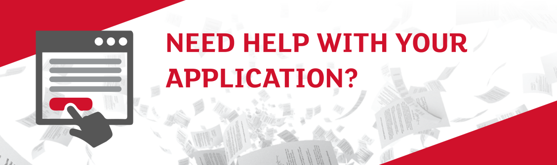 Need Help with your Application?