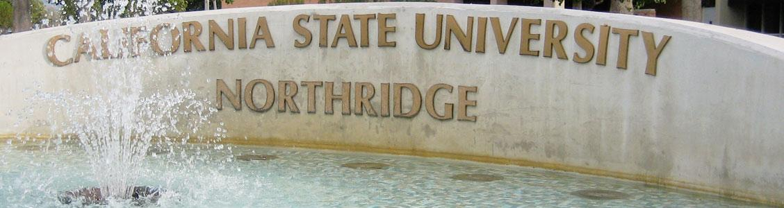 California State University Northridge fountain