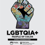LGBTQIA+ People of Color QTPOC Conversation poster